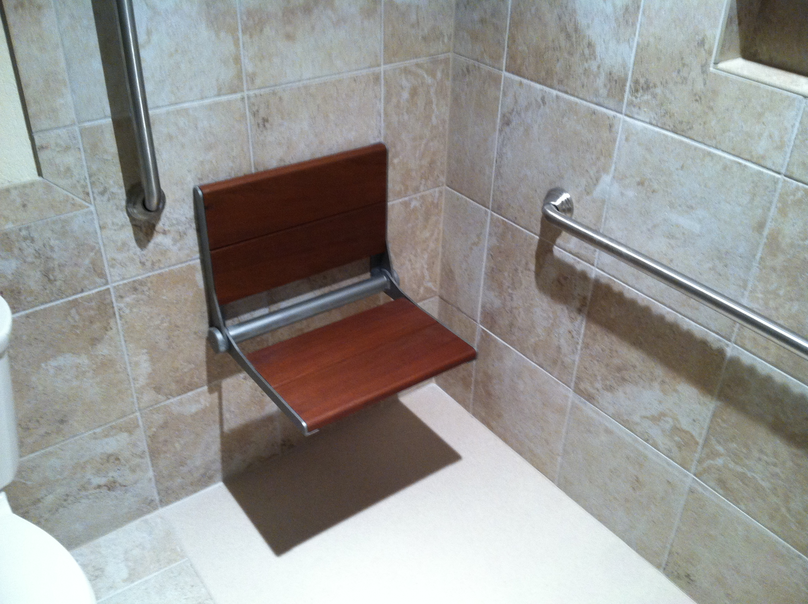 Shower Chair & Grab Bars
