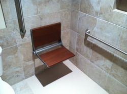 Shower Chair & Grab Bars