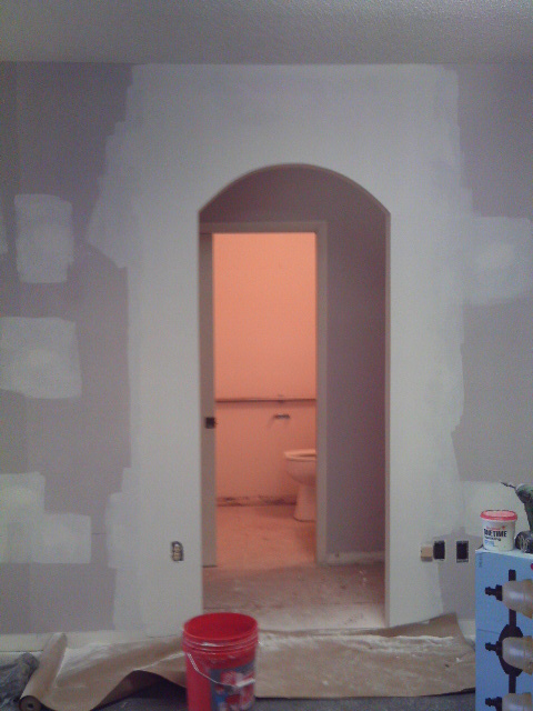 Custom Arch Doorway
