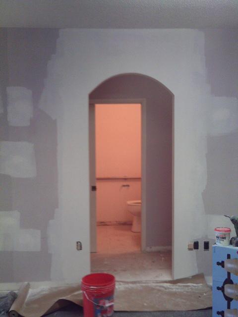 Custom Arch Doorway