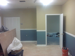 Trim Install and Painting