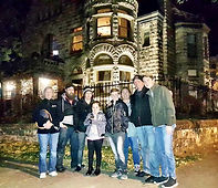 ghost tour Denver