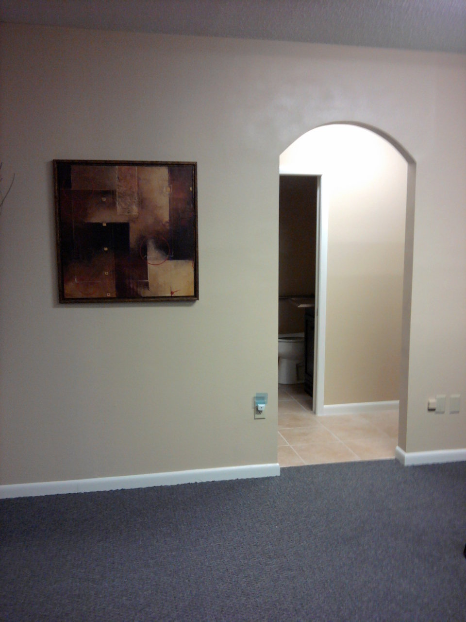 Finished Arch Doorway