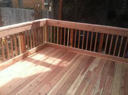 Custom Redwood Deck