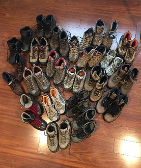 donated boots for youth in need