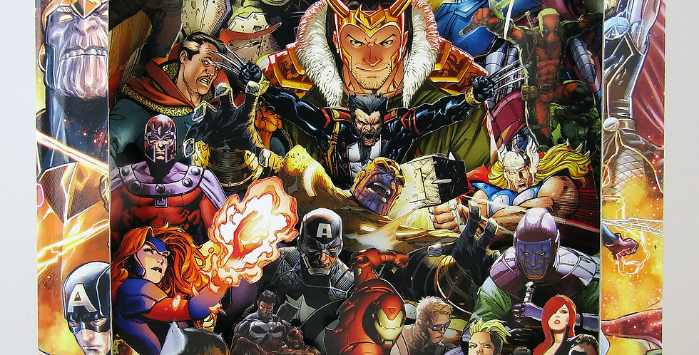 Marvel Heroes and Villains IV