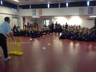 Chance to Shine Cricket assembly