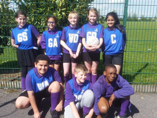 Hi 5 Netball competition
