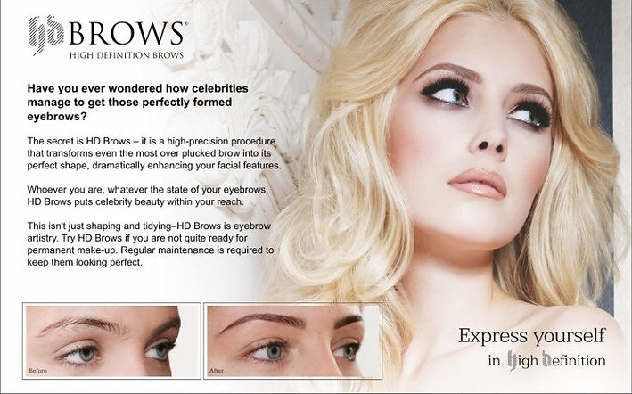 hd brows, high definition brows