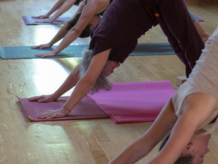 Yoga cette semaine!