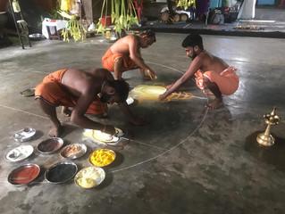 Roopa Kolam ou l'art de l'éphémère.