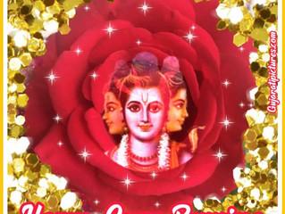 Happy Guru Purnima + planning de la semaine