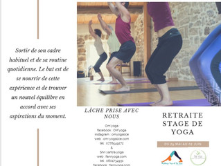 Stage Yoga et rando en Ardèche week-end de l'Ascension 29/05 au 02/06 2019