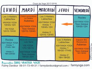 La rentrée du Yoga c'est demain!