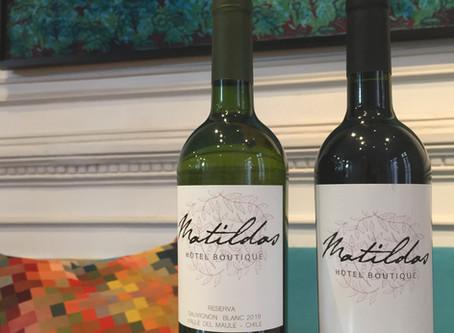 Matildas Hotel Boutique eligió vinos y etiquetas PYNOI