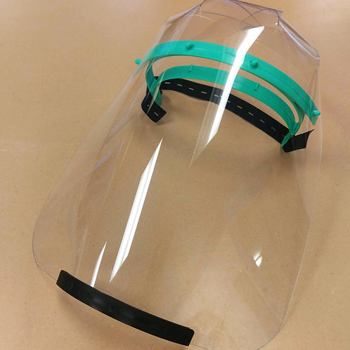 Reusable Face Shields - Lots of 10
