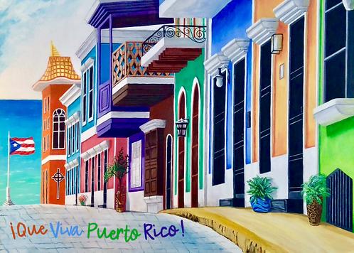 Que Viva Puerto Rico!