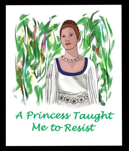 Princess Leia Taught me to Resist
