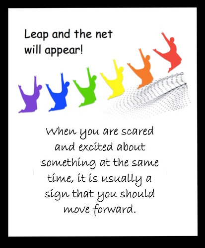 Faith - Leap and the Net will Appear