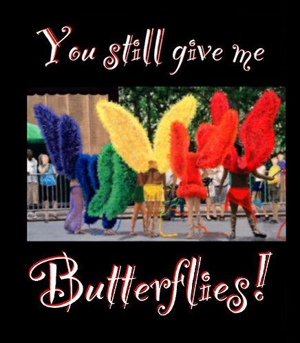 Rainbow Butterfly Men