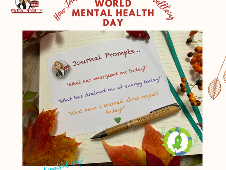 Journaling for mental wellbeing and clarity - World Mental Health Day 2021