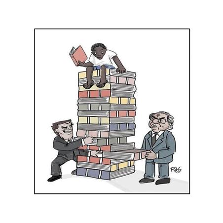 Entre ser rico ou pobre, prefiro ser livro
