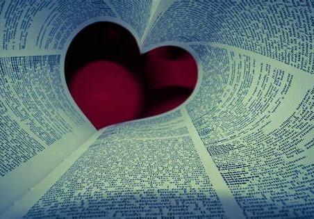 Palavras em vida, benditas, nutridas de amor