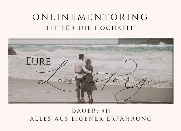 """Onlinementoring """"Fit für die Hochzeit"""" am"""