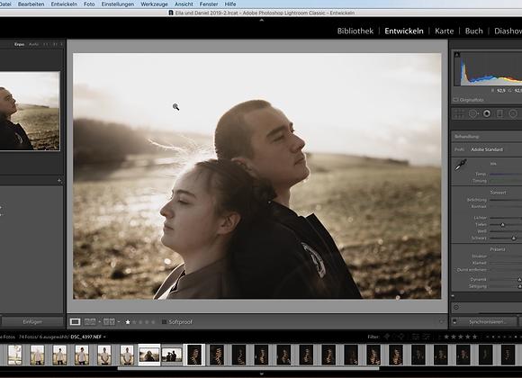 Professionelle Bildbearbeitung in LRc Videokurs