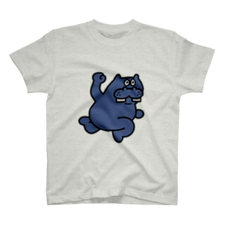 カバパンチラインTシャツ カラー