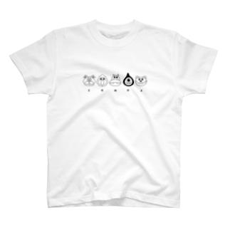 ZOMOZフェイス Tシャツ
