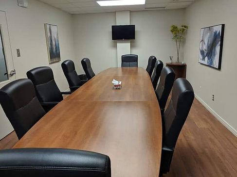 Salle de conférence (location à l'heure)