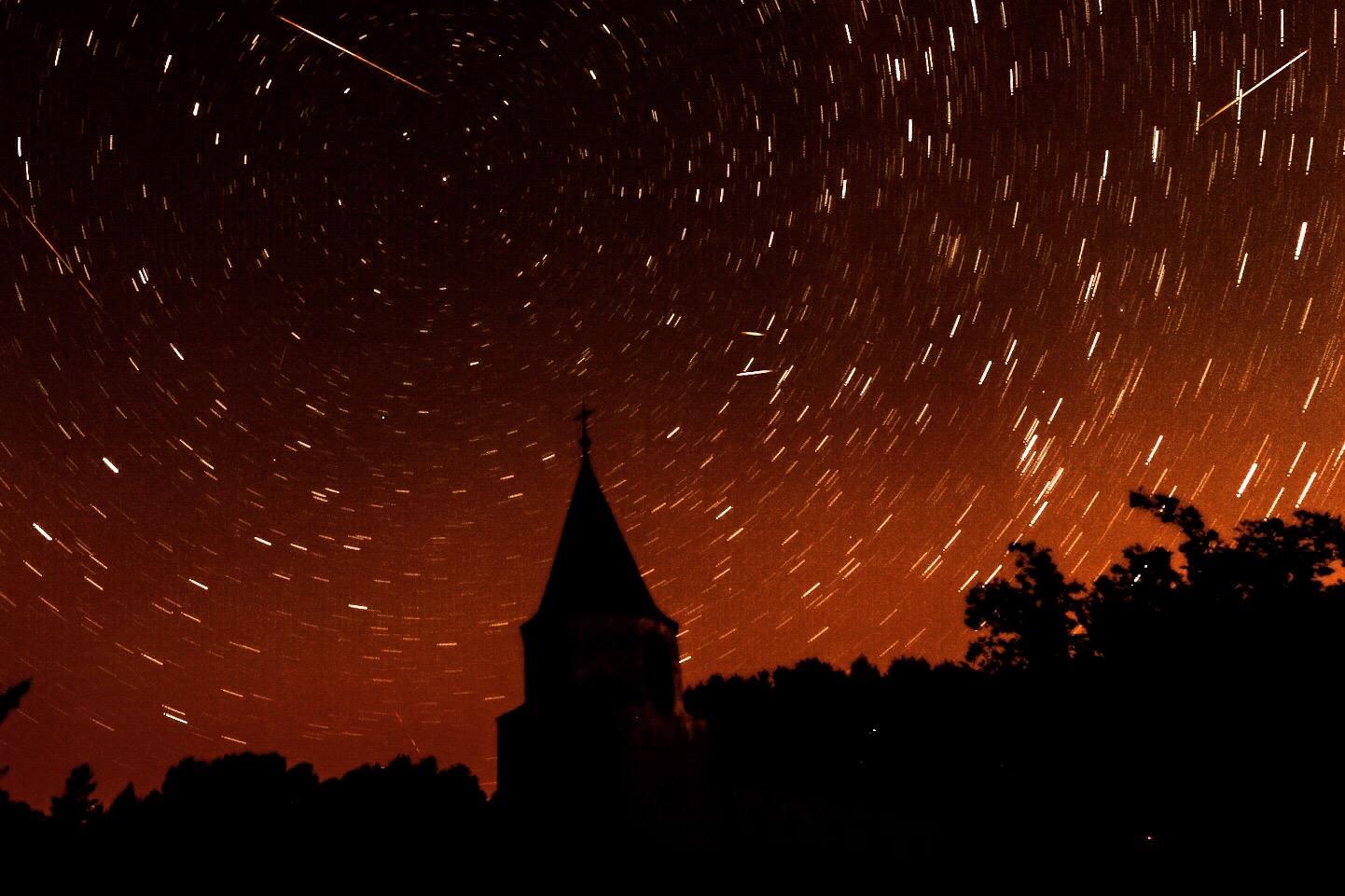 nuit des étoiles filantes