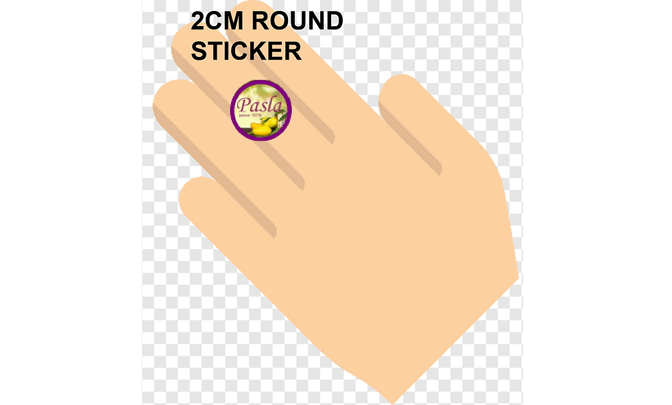 20mm (2cm) Round Stickers (247pcs per sheet)