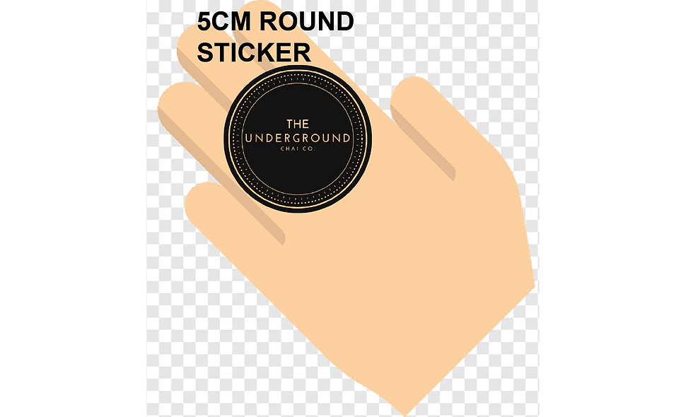 50mm (5cm) Round Stickers (40pcs per sheet)