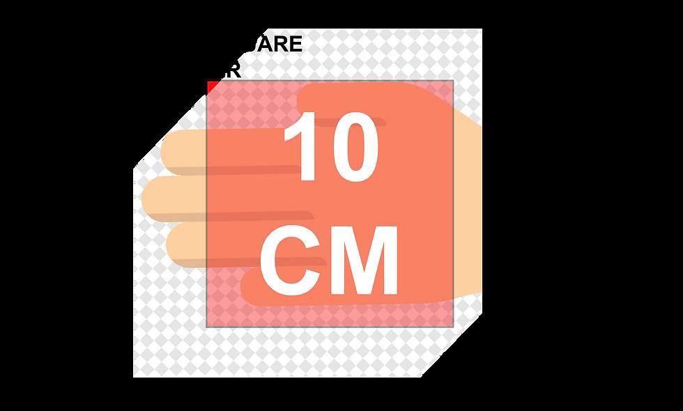 100mm (10cm) SQUARE Stickers (12pcs per sheet)