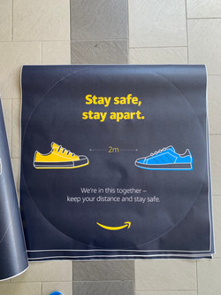 Covid-Safe Distance-Floor Graphic - 2