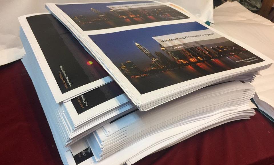 Colour Document Prints TWO SIDE
