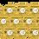 Thumbnail: 90mm (9cm) Round Stickers (12pcs per sheet)