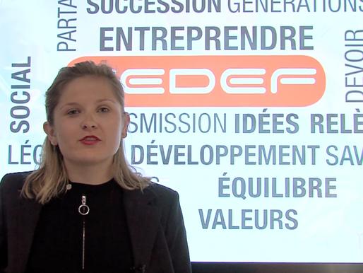Vidéo de présentation : Le CEDEF en 1 minute par Cécilia Laurent !
