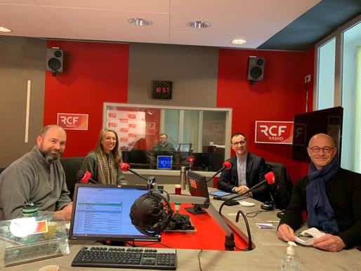 Le CEDEF passe à la Radio RCF Anjou !