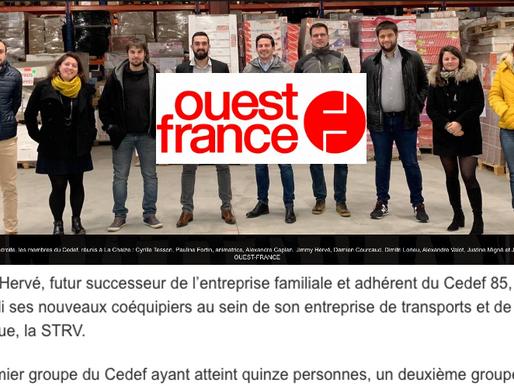 Le CEDEF85 est dans le Ouest-France !