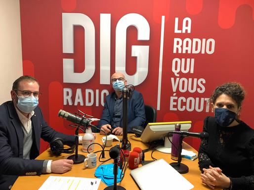 Le CEDEF passe à DIG RADIO Nord Vendée !