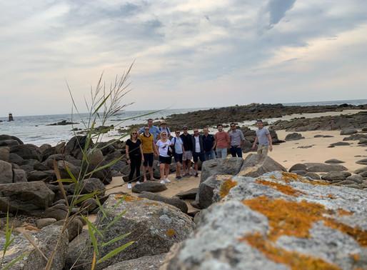 Le CEDEF 1 à la découverte de la cohésion d'équipe à l'île d'Yeu !