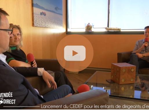 Le CEDEF est en direct sur TV Vendée