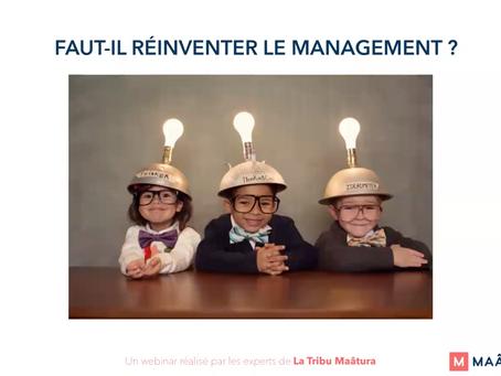 Faut-il réinventer le management ? #webinar