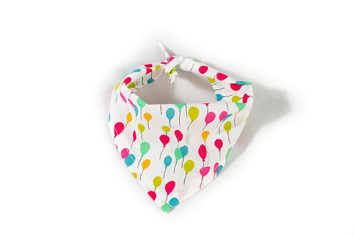 The Barkery UK balloons/dog birthday bandana
