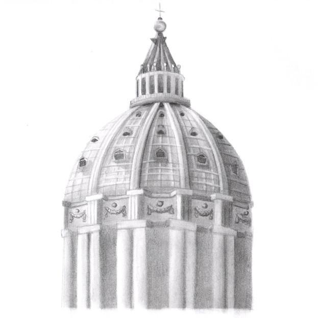 Saint Peter's Dome, Rome