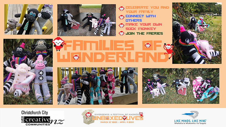 Families of wonderland Facebook event co