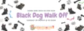 black dog walk off Facebook Event Cover.